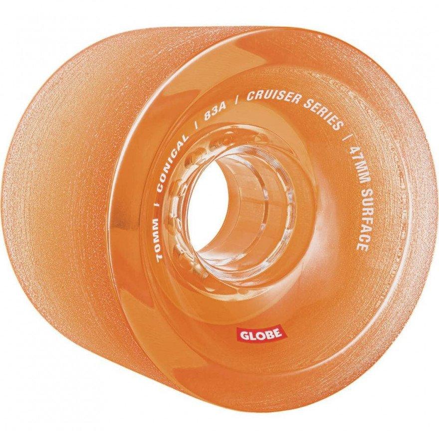 Roti Longboard Globe Conical Clear Amber