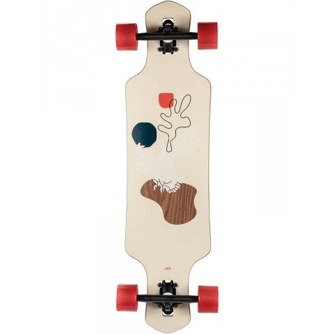 Longboard Globe Geminon Walnut/Cockatoo