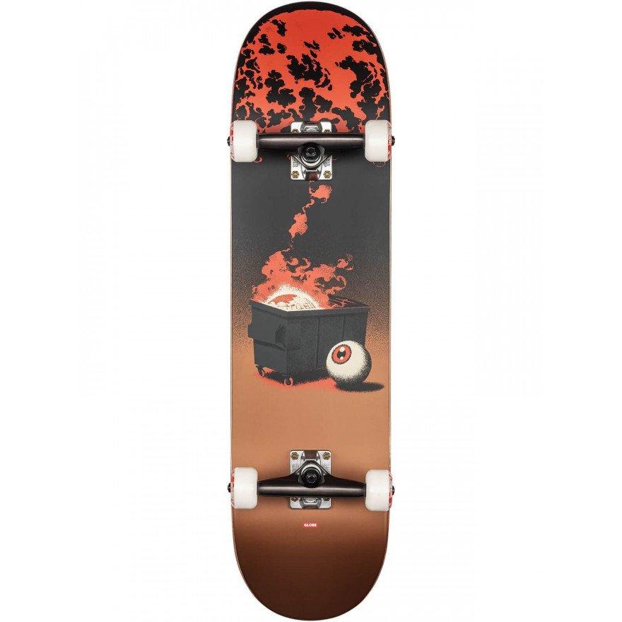Skateboard complet Globe G2 On the Brink Dumpster Fire
