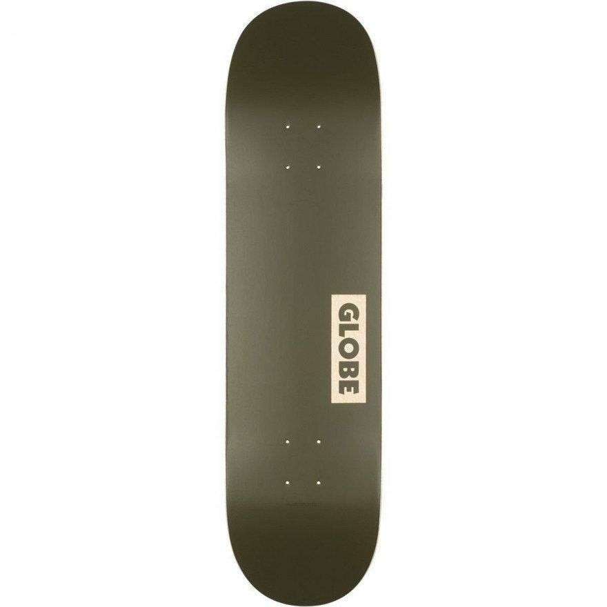 Placa Skateboard Globe Goodstock Fatigue Green