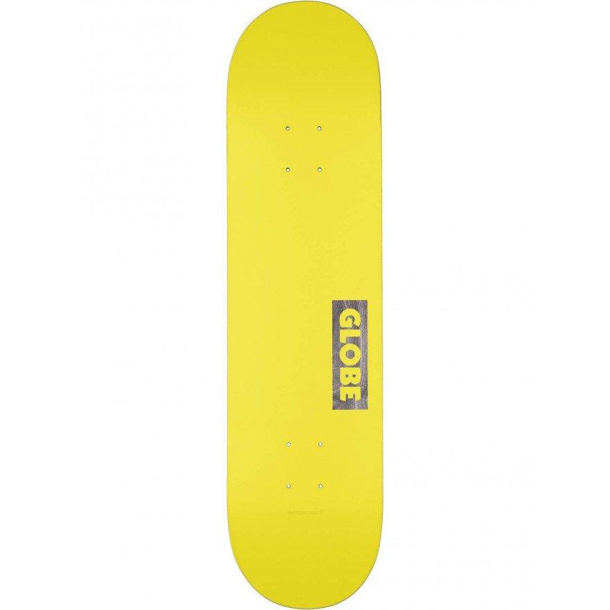 Placa Skateboard Globe Goodstock Neon Yellow