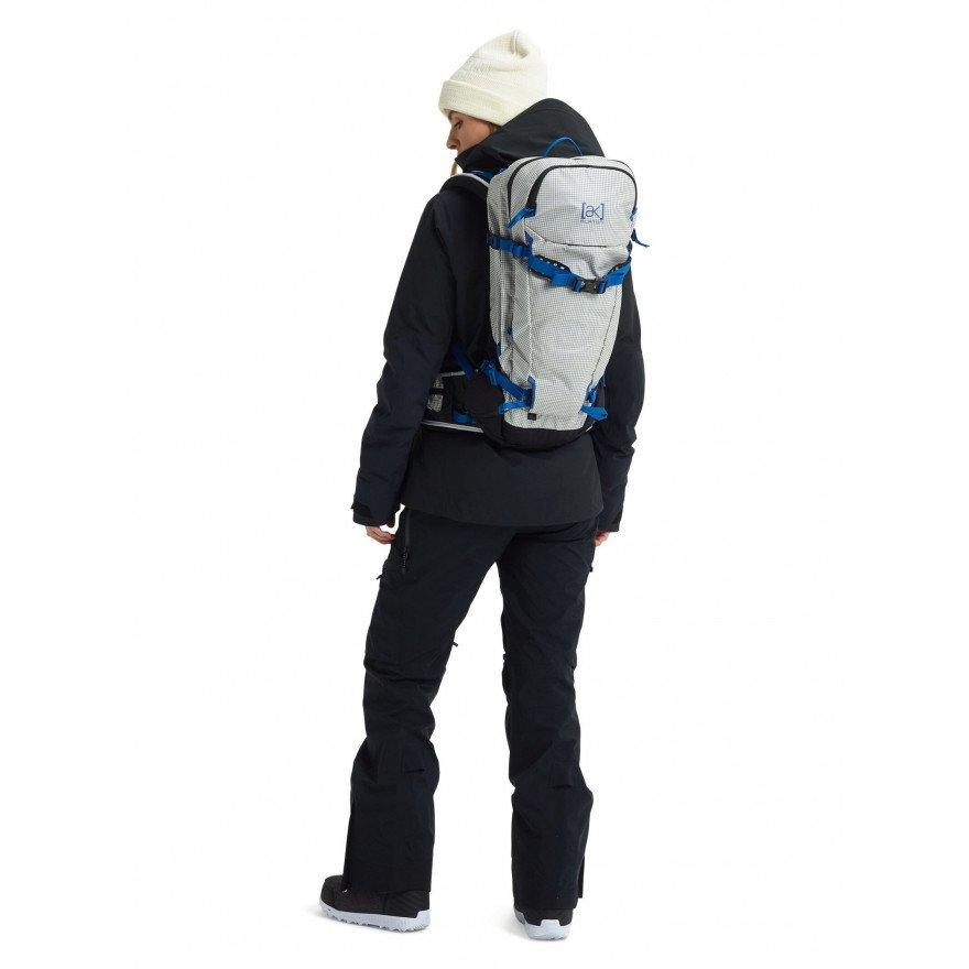 Rucsac Snowboard Unisex Burton AK Incline 20L - Stout White Ripstop