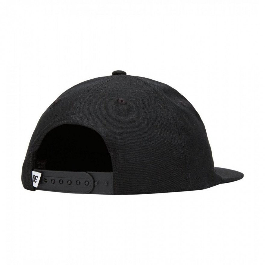 Sapca DC Any Color Snapback - Anthracite/Solid