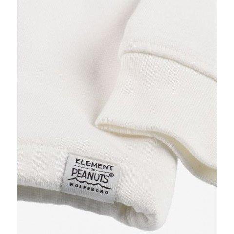 Hanorac Element Dama Peanuts Trekking HD - Off White