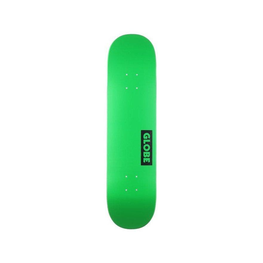 Placa Skateboard Globe Goodstock Neon Green