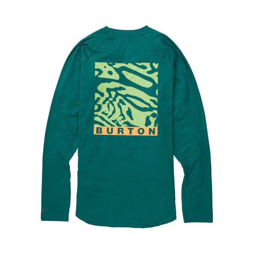 First Layer Bluza Barbati Burton Roadie Tech T - Antique Green