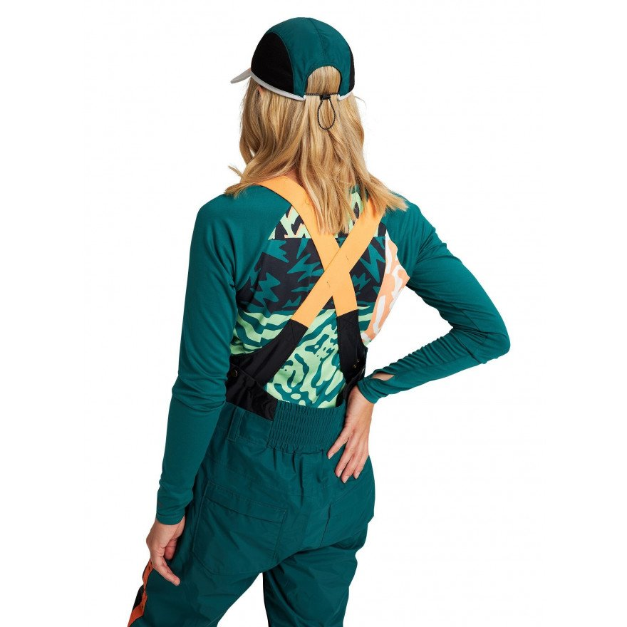 First Layer Bluza Dama Burton Tech T - Antique Green