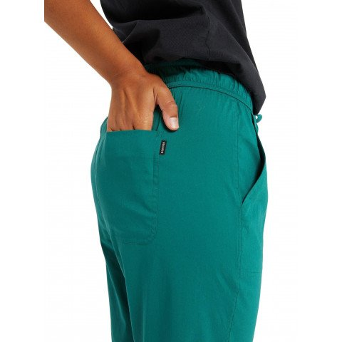 Pantaloni Dama Burton Joy - Antique Green