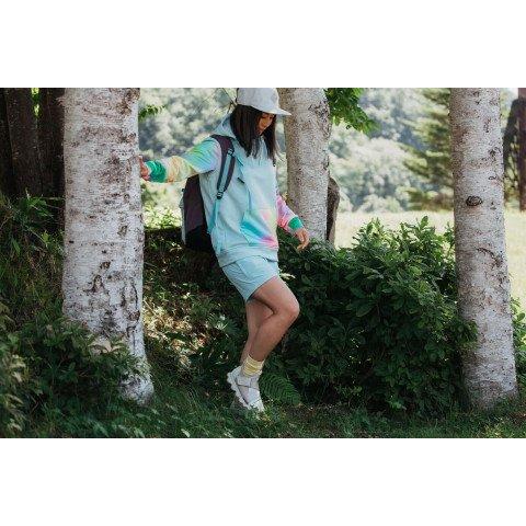 Hanorac Termal Dama Burton Oak - Iced Aqua Heather Mirridescence