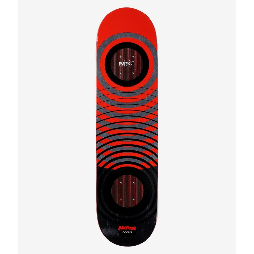Placa skateboard Almost COOPER RED RINGS IMPACT