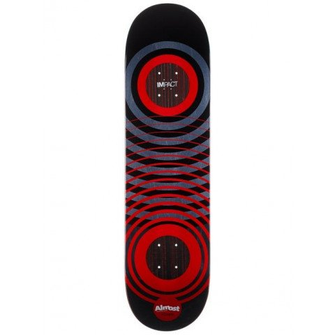 Placa skateboard Almost YOUNESS RED RINGS IMPACT
