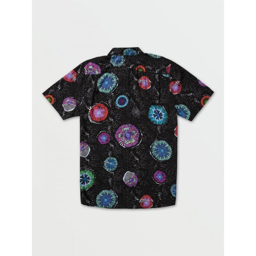 Camasa Barbati Volcom Coral Morph - Black