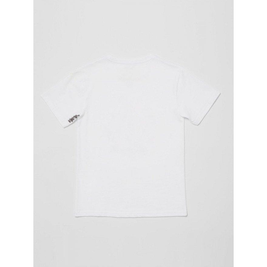 Tricou Copii Volcom Fizz Stone - White