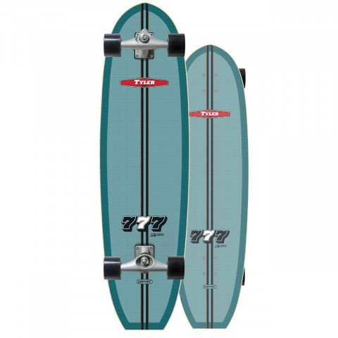"Cruiser Carver Skateboards Carver CX Raw 36.5"" Tyler ""777"""