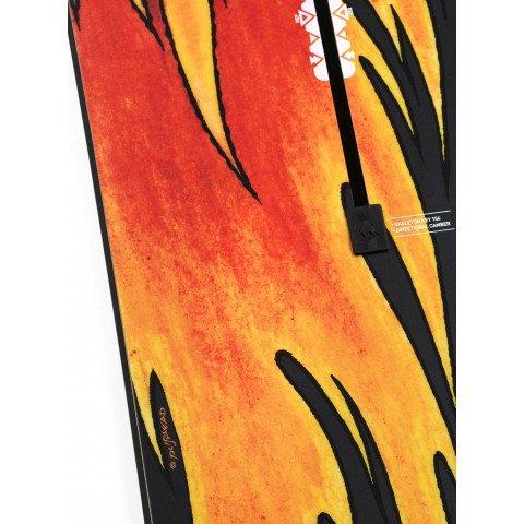 Placa Snowboard Barbati Burton Metallica Skeleton Key