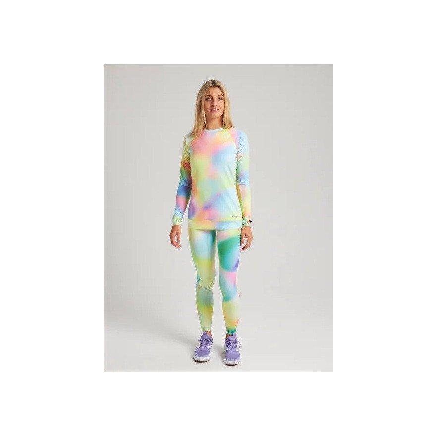 First Layer Bluza Dama Burton Lightweight - Miridescence