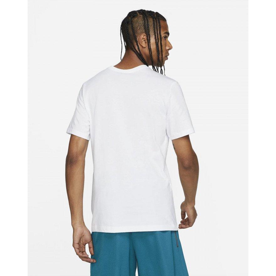 Tricou Barbati Nike Fran Swoosh - White