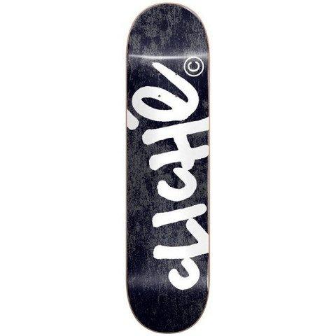 Placa Skateboard Cliche Handwritten Black