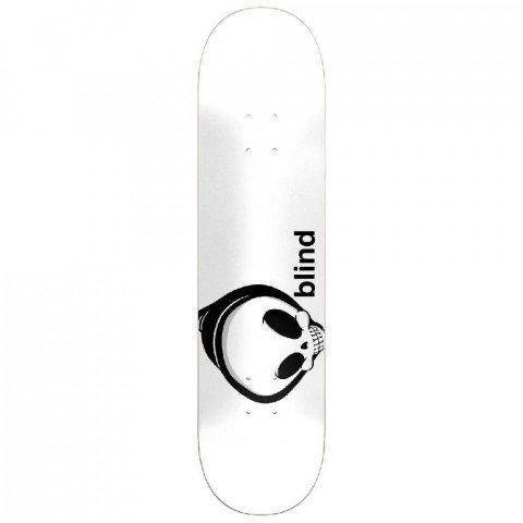 Placa Skateboard Blind Whitey Reaper White