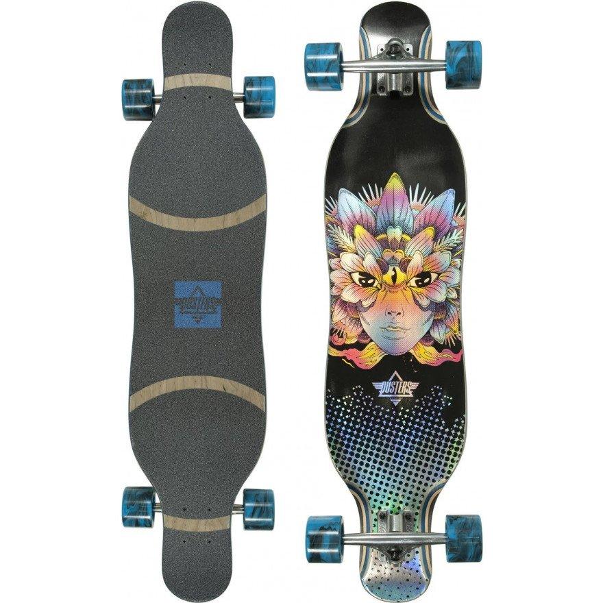 """Longboard Dusters California Fleur 38.5"""" Blue"""