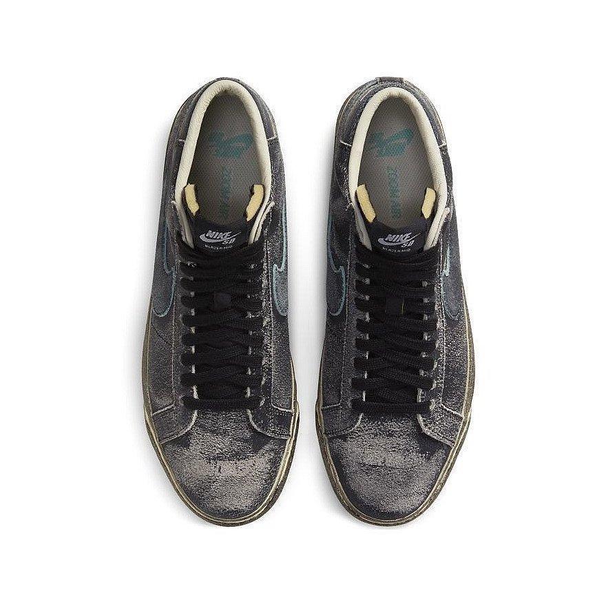 Sneakers Nike Blazer Mid PRM Zoom - Black Light Dew Coconut Milk