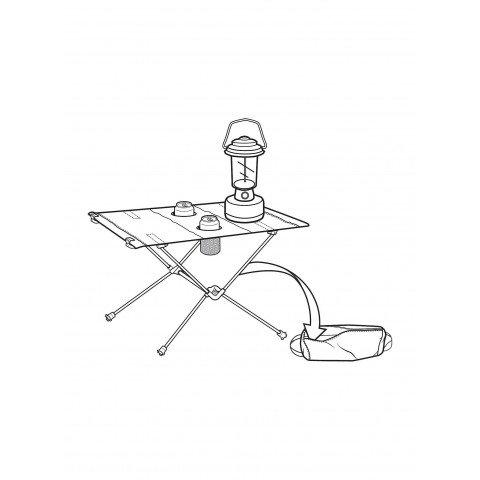 Masa Camping Burton Table One - Mirridescence