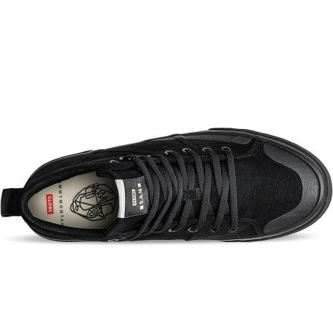 Shoes Globe Los Angered II - Black Wolverine