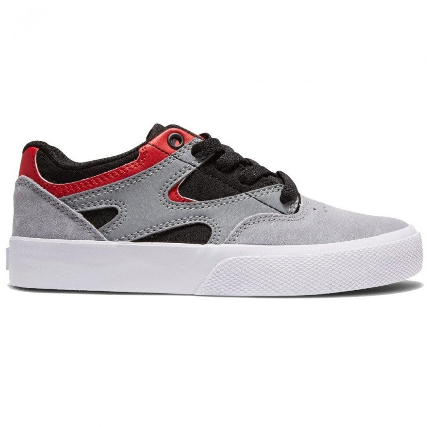 Shoes DC Kalis Vulc - Grey Black Red