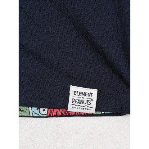 Tricou Barbati Element Peanuts Reversible - Navy