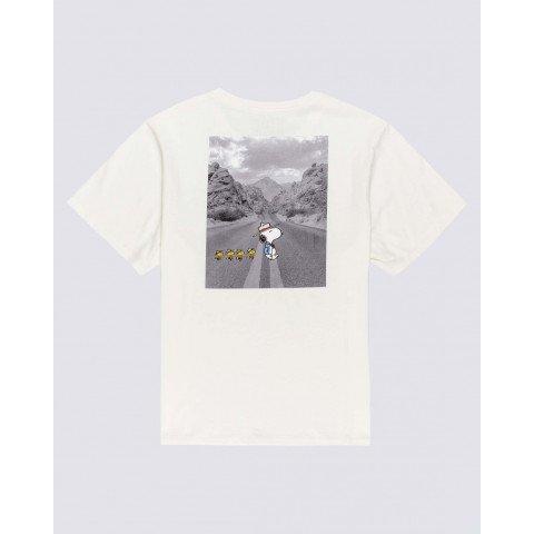 Tricou Dama Element Peanuts Adventure - Off White