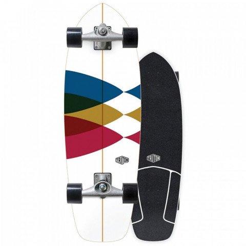 Cruiser Carver Skateboards Spectral Triton by Carver CX Raw