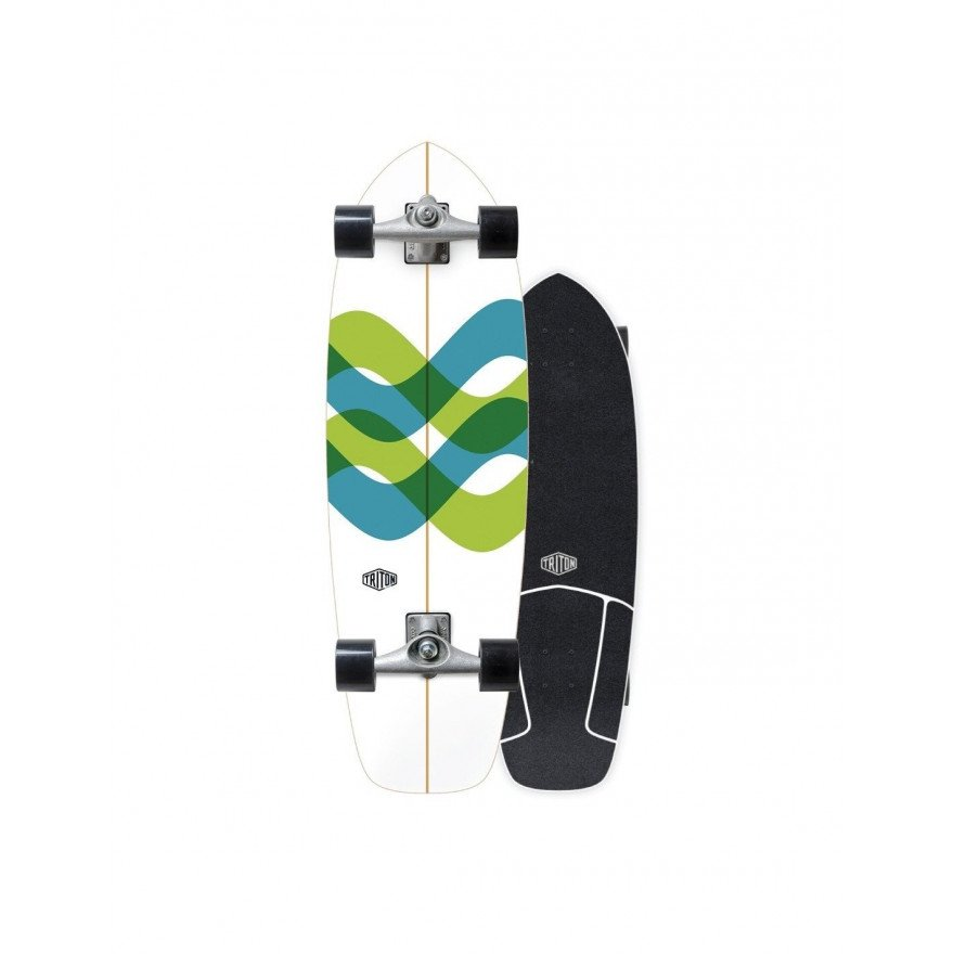 Cruiser Carver Skateboards Signal Triton by Carver CX Raw