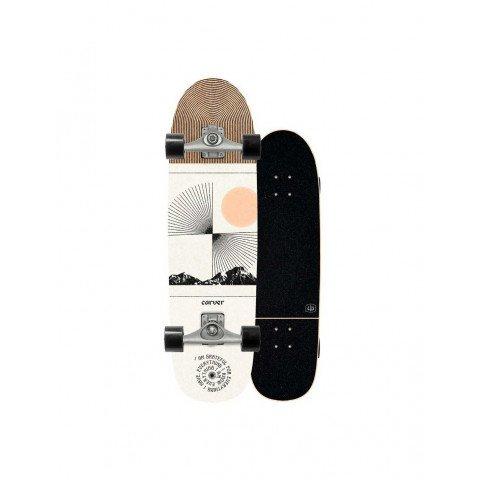 Cruiser Carver Skateboards Scape C5 Raw