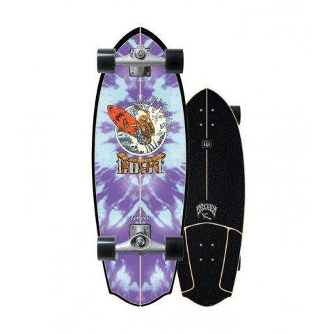 Cruiser Carver Skateboards Rocket Redux CX Raw