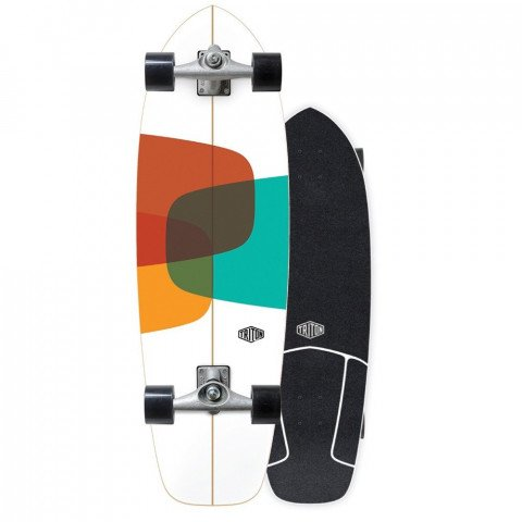 Cruiser Carver Skateboards Prismal Triton by Carver CX Raw