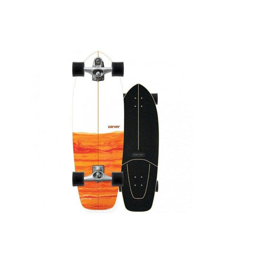 Cruiser Carver Skateboards Firefly C7 Raw