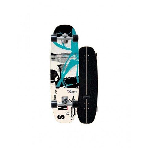 Cruiser Carver Skateboards Carson Proteus CX Raw