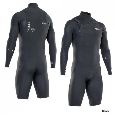 Costum Neopren Ion Seek Core Shorty LS 2/2 FZ DL - Black