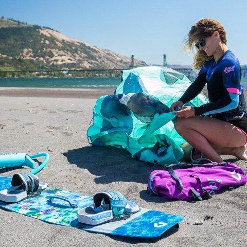 Legaturi Kitesurfing Duotone Entity Ergo - Blue Grey