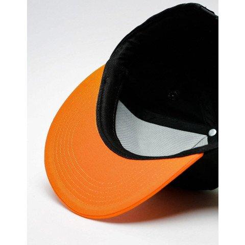 Sapca Independent Split Cross - Black Orange