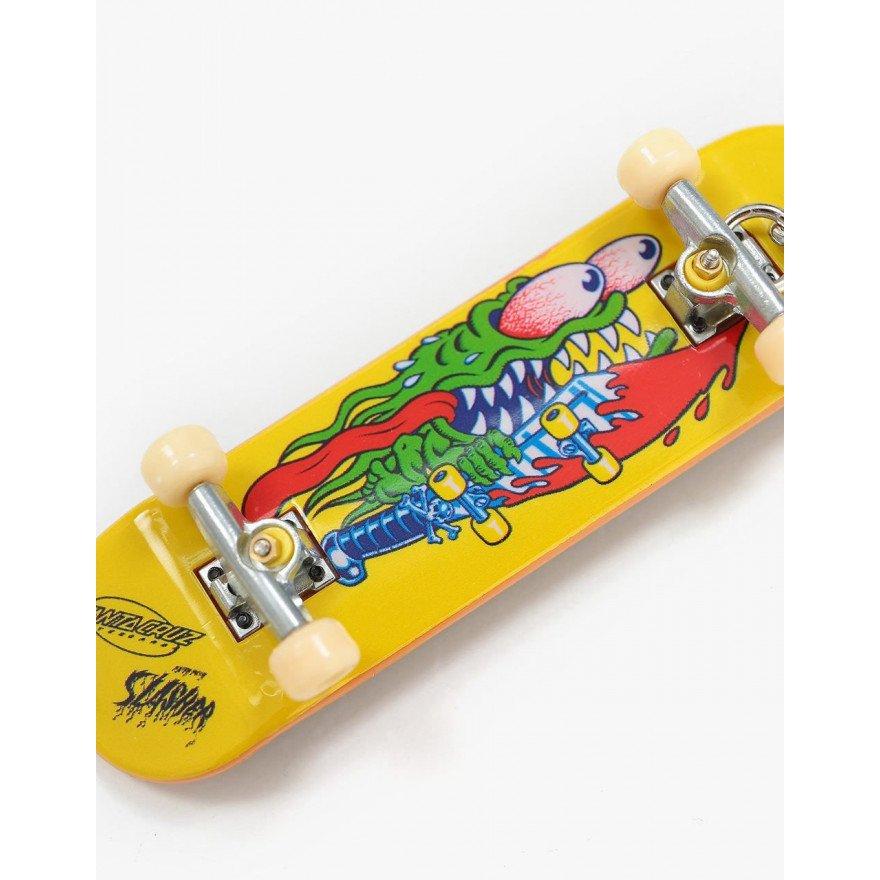 Breloc Santa Cruz Slasher Fingerboard - Yellow