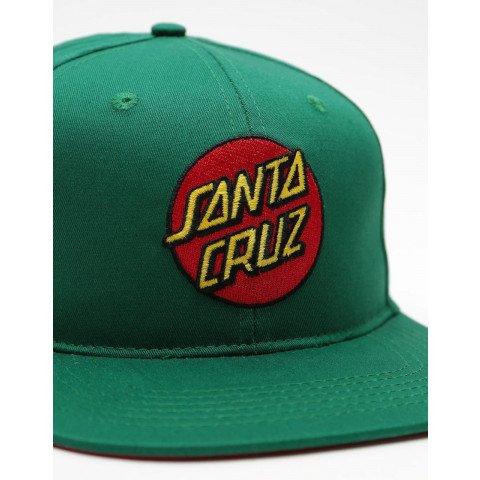Sapca Santa Cruz Classic Dot - Evergreen