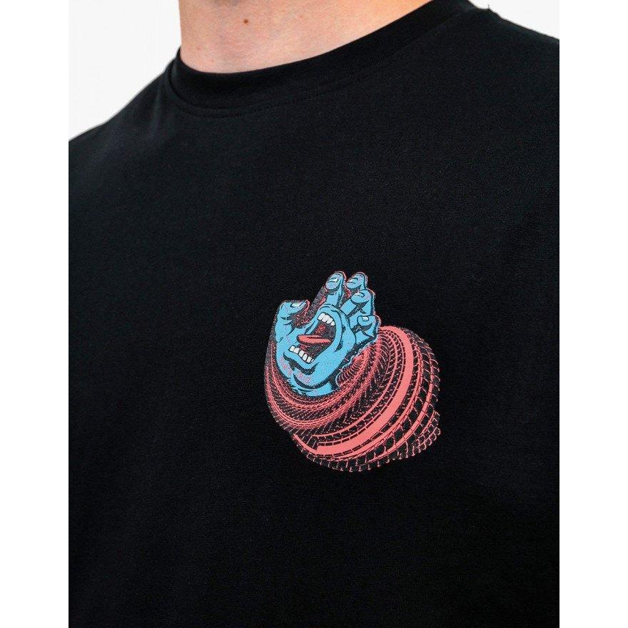 Tricou Barbati Santa Cruz No Pattern Screaming Hand - Black