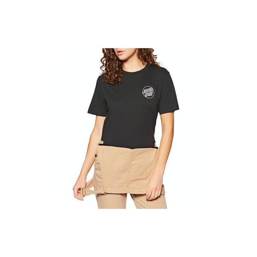 Tricou Dama Santa Cruz Dressen Dog House - Black Wash