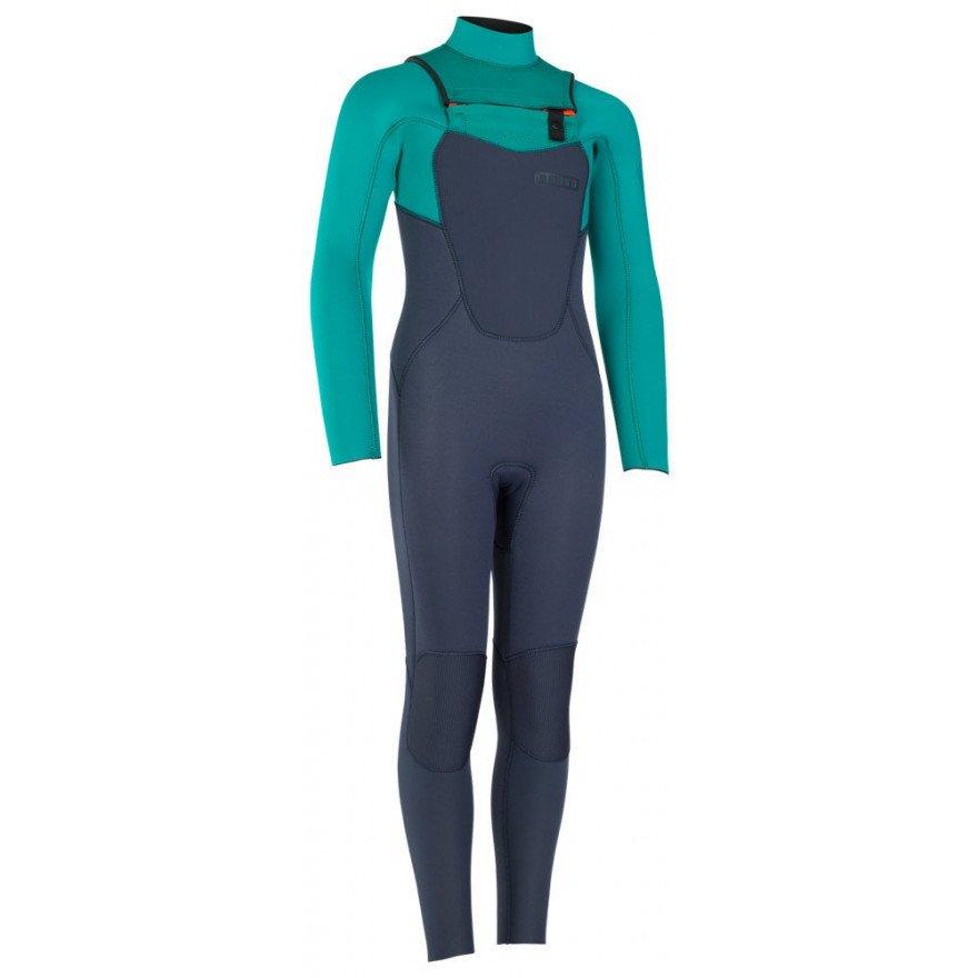 Costum neopren Ion Capture Semidry 3/2 Frontzip DL - Golf Green Slate Blue