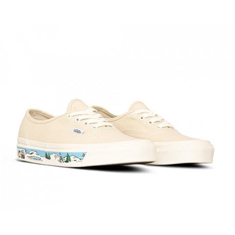 Shoes Vans Authentic 44 DX ANAHEIMFACTORY - OG White Scene