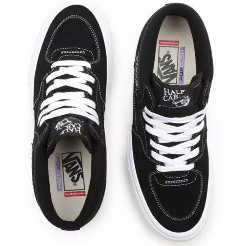Shoes Vans Half Cab - Black White