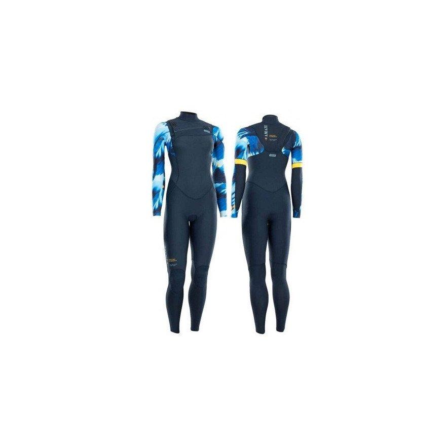 Costum Neopren Ion Amaze Amp Semidry 4/3 FZ DL - Blue Capsule
