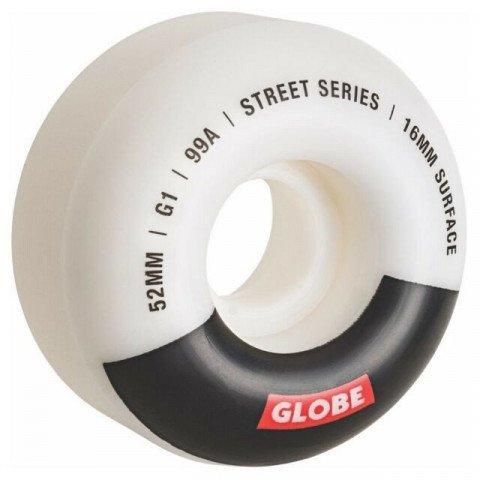 Roti Skateboard Globe G1 - White Black Bar