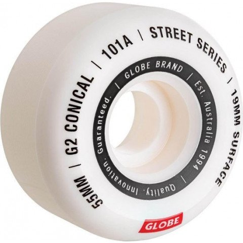 Roti Skateboard Globe G2 Conical Street - White
